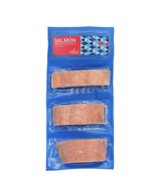 Porciones de salmón congeladas Apolo